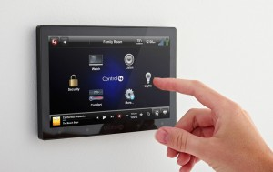 Control4 wall touchscreen