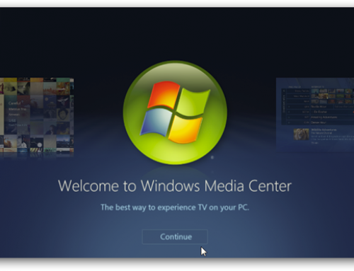 Windows 7 TV splutters